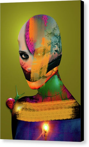 Color Me Not Vol III - Surreal Fine Art Portrait on Canvas | The Photographist™