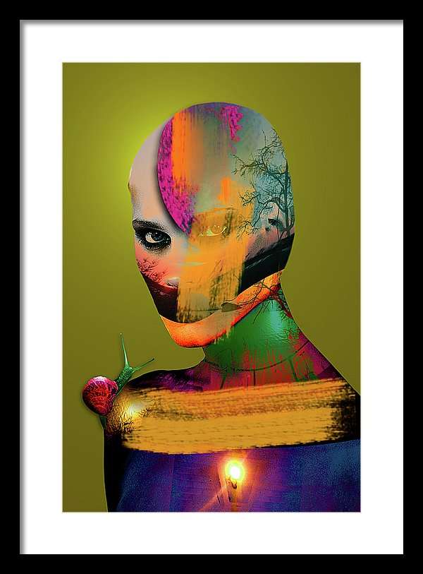 Color Me Not Vol III - Framed Surreal Fine Art Portrait | The Photographist™