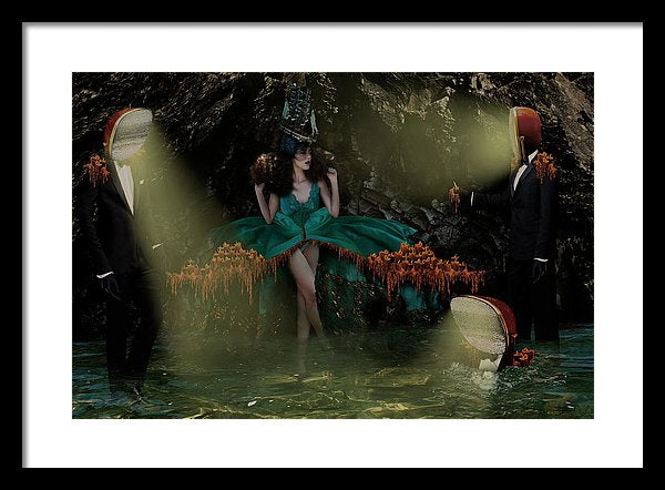 Dante's Level One Vol I - Framed Surreal Fine Art Portrait | The Photographist™