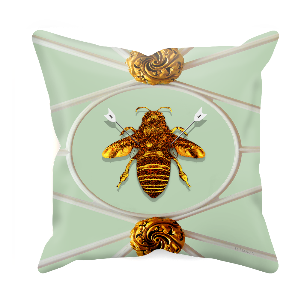 Versailles Bee Divergent- Sets & Singles Pillowcase in Pastel | Le Leanian™