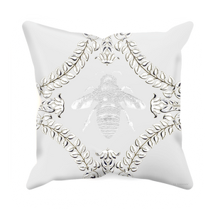 Queen Bee- Sets & Singles Pillowcase in Lightest Gray | Le Leanian™