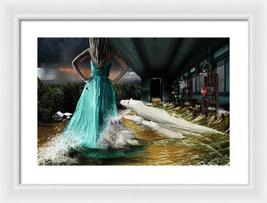 Edge Of The Bayou - Framed Surreal Fine Art Portrait Print | The Photographist™