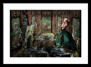 How We Live Now - Surreal Fashion Framed Fine Art Portrait Print | The Photographist™