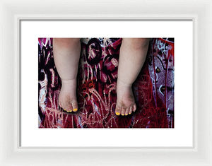 Miss P - Framed Surreal Fine Art Portrait Print | The Photographist™