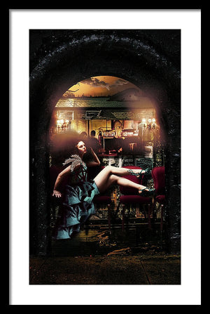 The New Orleans Chronicles: Burlesque - Surreal Fashion Framed Byzantine Fine Art Print | The Photographist™