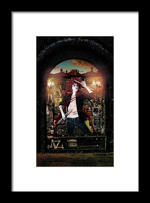 The New Orleans Chronicles: Stix- Surreal Fashion Byzantine Framed Art Print | The Photographist™