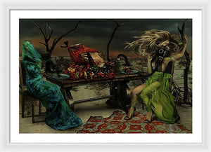 Searching For Him In The Afterlife - Framed Surreal Fine Art Portrait Print | The Photographist™
