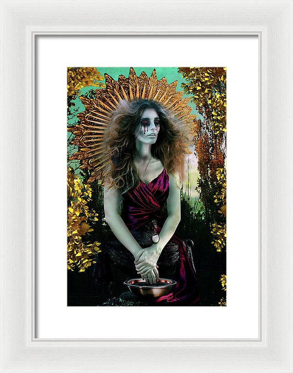 The Gatekeeper Vol I - Surreal Framed Fine Art Portrait Print | The Photographist™