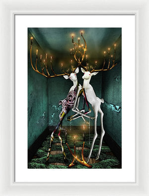 The Guff in Trepidation Vol II - Framed Surreal Fine Art Print | The Photographist™