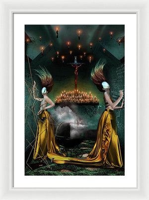 The Guff Vol II: The Space Between Forever - Surreal Fashion Framed Fine Art Print | The Photographist™