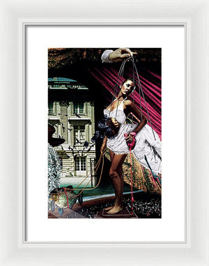 The Minds Southern Oracle Crop Vol II - Surreal Fashion Framed Fine Art Print | The Photographist™