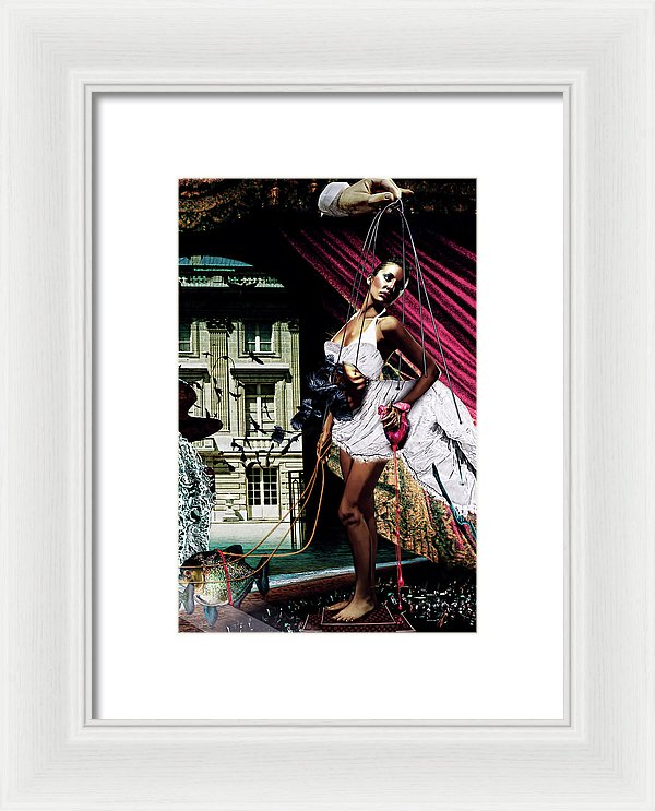Re-Imagining The Never Ending Story, Southern Oracle- Framed Fine Art Print