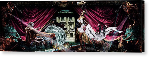 Re-Imagining The Never Ending Story, Southern Oracle- Fine Art Canvas Print