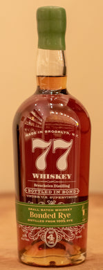 77 Whiskey Bonded Rye 750ml