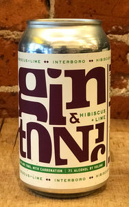 Hibiscus Lime Gin & Tonic 355ml can