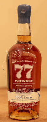 77 Whiskey 100% Corn 750ml