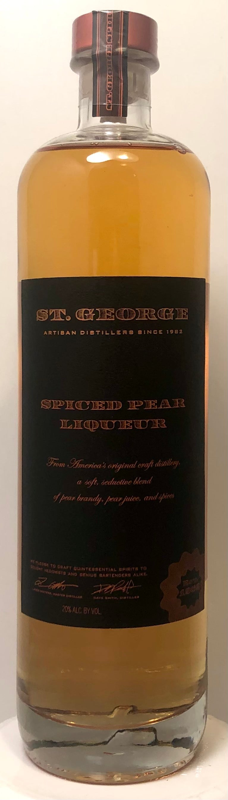 Spiced Pear Liqueur 750ml