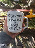 Personalised pet mugs