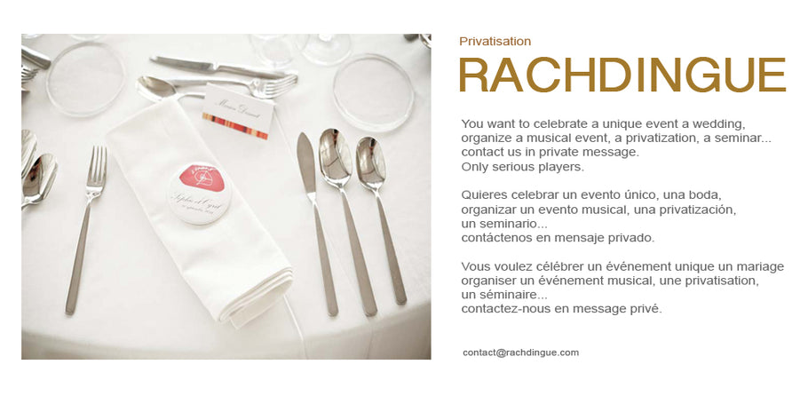 Privatization / Events / Wedding / Seminar