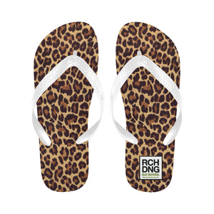 Rachdingue Flip-flop Black & White Panther