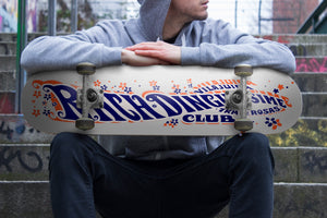 "Skate Rachdingue 100% Wood 7 Ply "" Free Shipping """