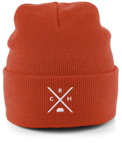Cuffed Beanie Embroidered RCH x Free Shipping !