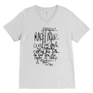 T-shirt Rachdingue V-Neck Unisex