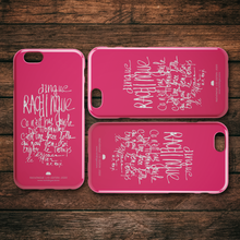 "Cargar imagen en el visor de la galería, iPhone Case ""Pink"" Slim or Tough Cases Model 6 to 11s Free Shipping !"