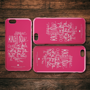 "iPhone Case ""Pink"" Slim or Tough Cases Model 6 to 11s Free Shipping !"