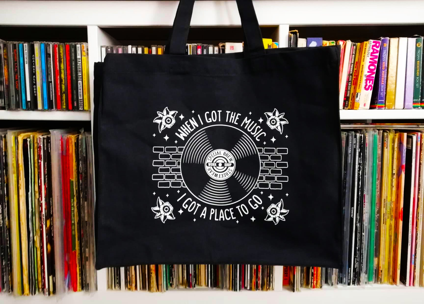 "Tote Bag ""When I Got the Music"""