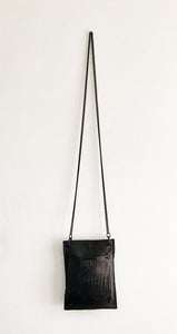 David Galan Crock Black Crossbody