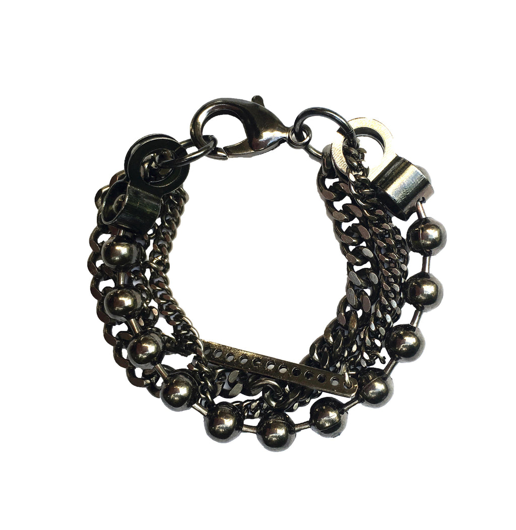 Industrial Layered Bracelet