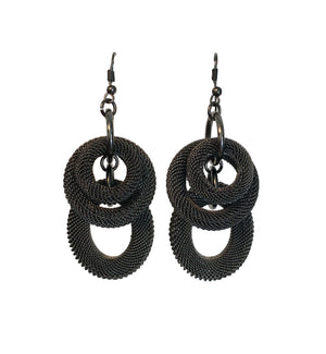 Woven Infiniti Earrings