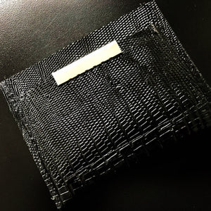 Lizard card case