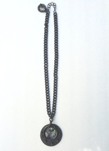 David Galan Black Chain Necklace