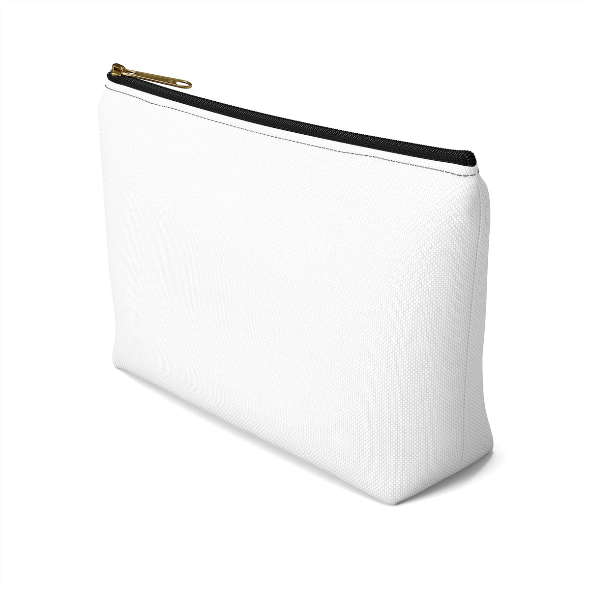 Customizable Accessory Pouch with T-bottom