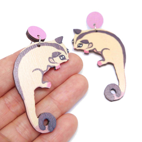 SUGAR GLIDER EARRINGS