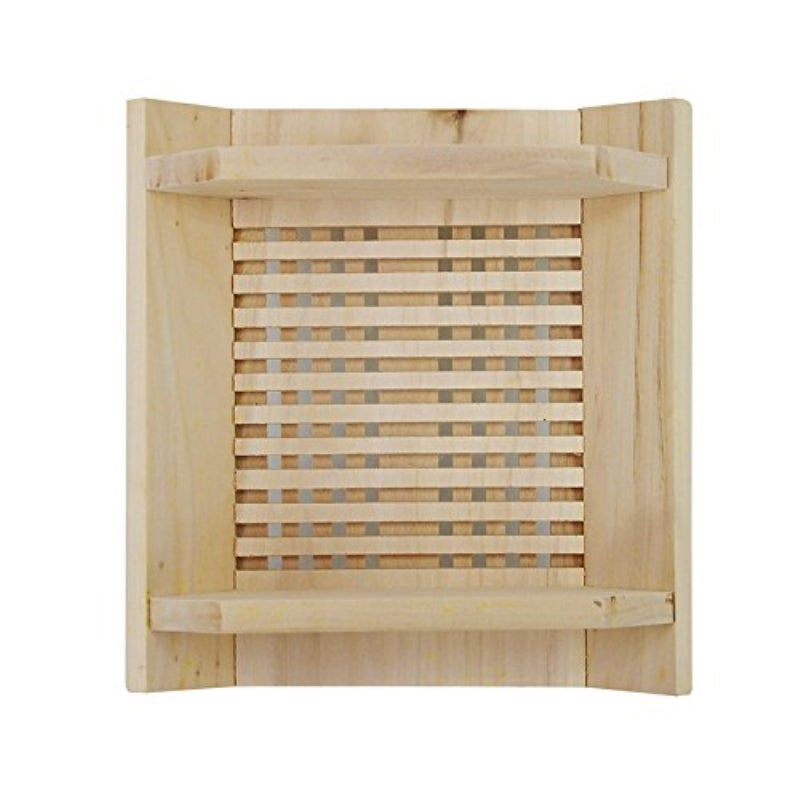 Sauna Accessory Lamp Shade in Finish Pine Wood