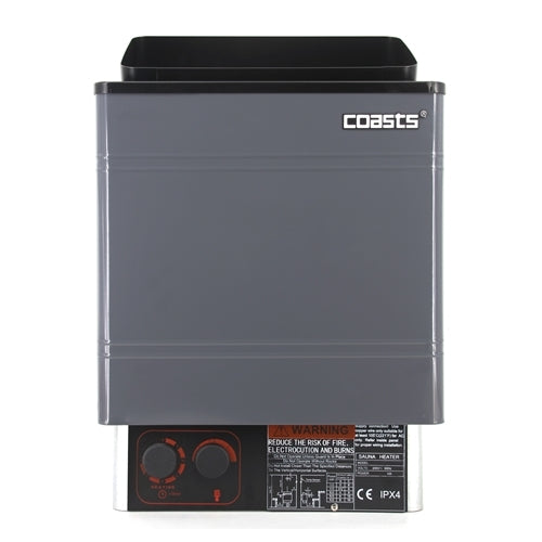 Coasts AM30MID3 Sauna Heater 3KW 240V with CON 3 Outer Digital Controller for Spa Sauna Room