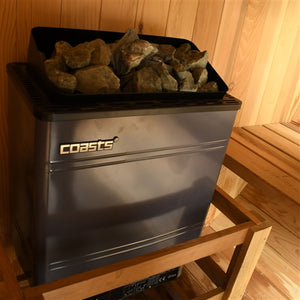 Coasts AM60MID4 Sauna Heater 6KW 240V with CON 4 Outer Digital Controller for Spa Sauna Room