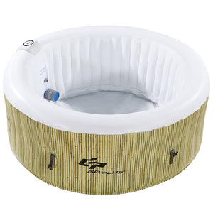 GoPlus Heated Bubble Inflatable Hot Tub - 4 People