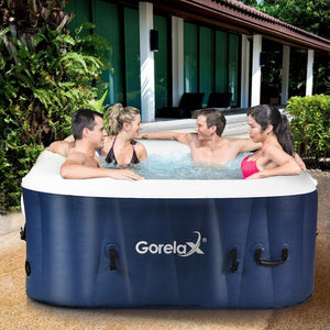 Outdoor Portable Inflatable Hot Tub - 4 people