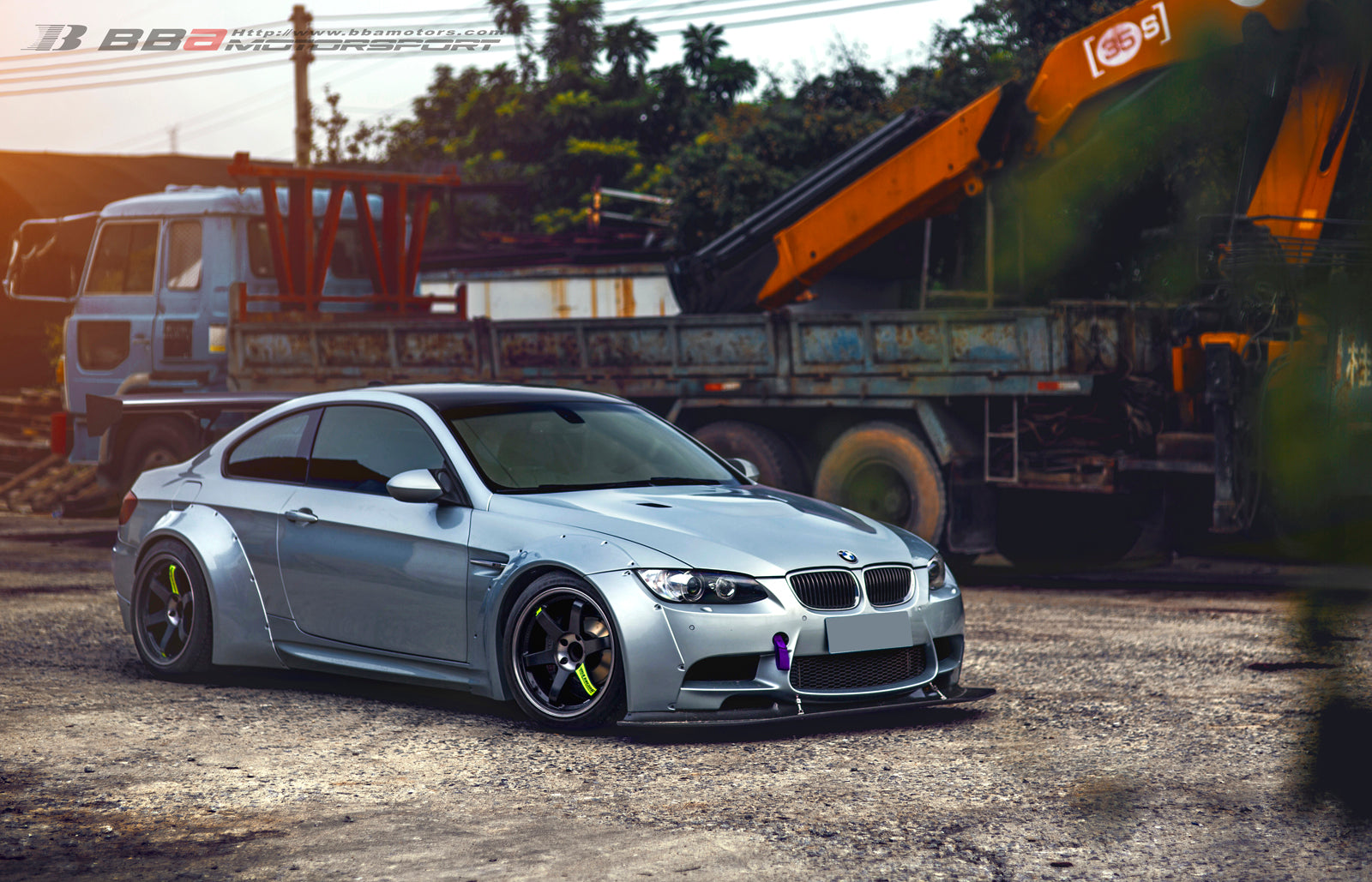 Tuned BMW M3: BBA Motors of China | VF650 Widebody M3