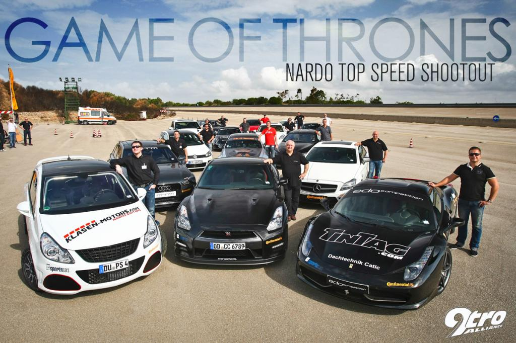 VF750 Supercharged R8 V10: Nardo competition 2013!