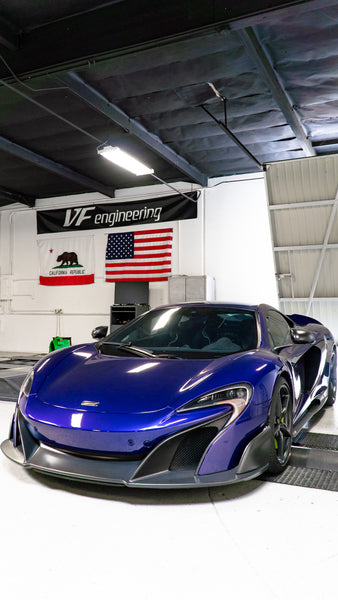 mclaren 675lt ecu tuning software by vf engineering hex tuning bench flash