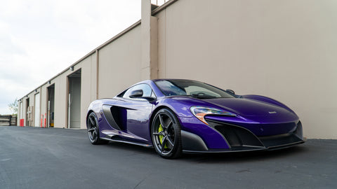 McLaren 650S/ 675LT ECU Tuning Software