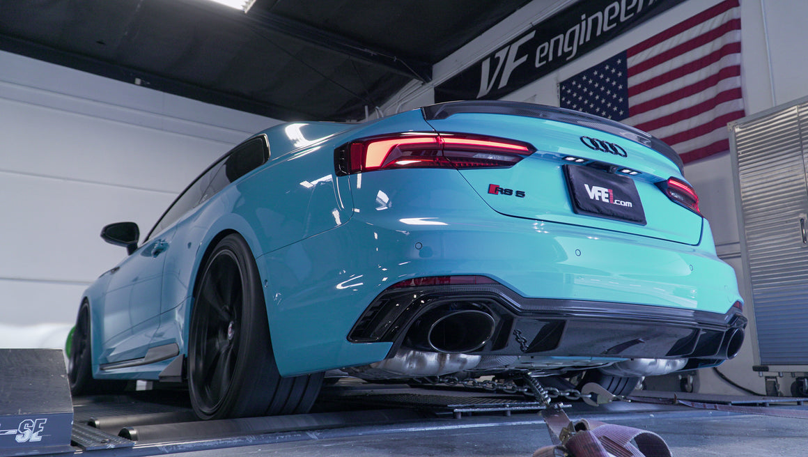 Audi (B9) RS5 ECU Tuning Software