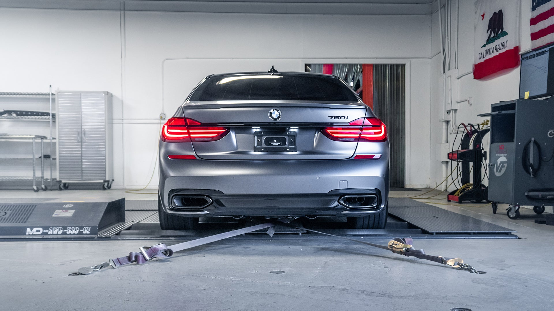 BMW 750i ECU Tuning Software G11/G12