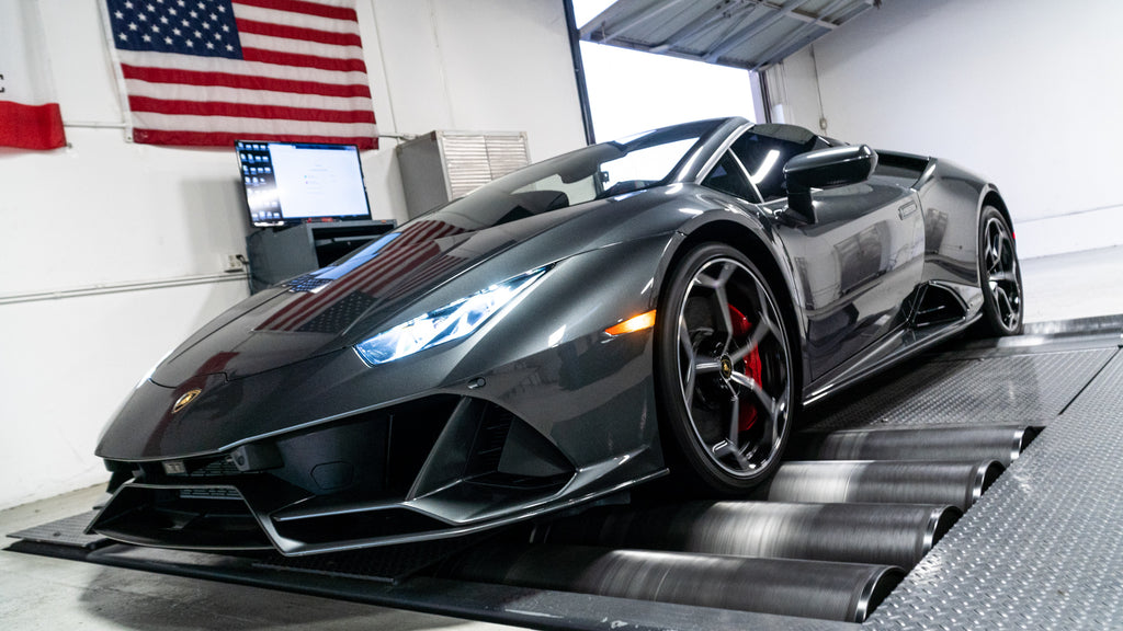Lamborghini Huracan EVO ECU Tuning Software