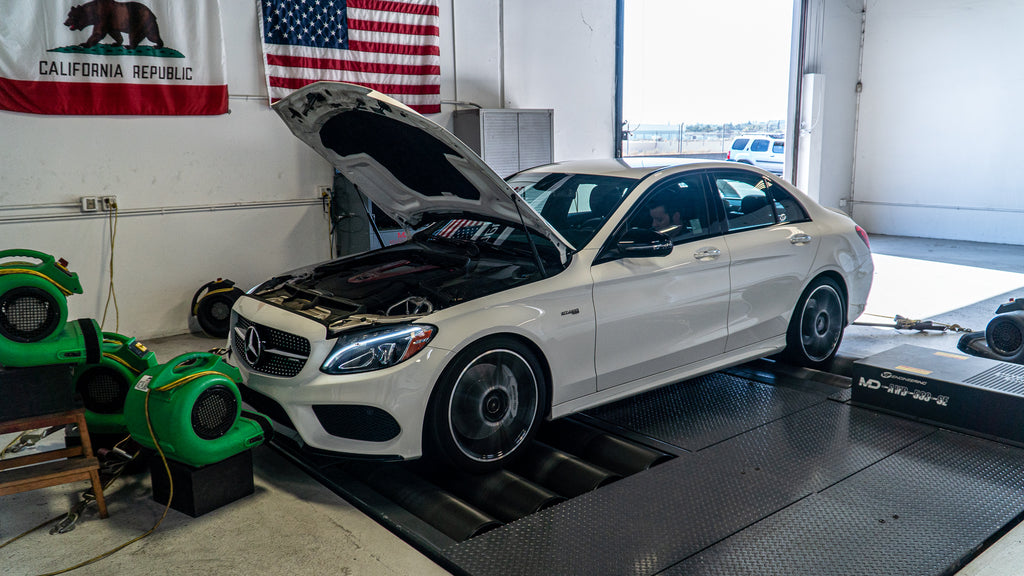 Mercedes C43 AMG (M276) ECU SOFTWARE